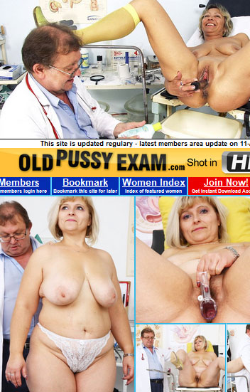 Old Pussy Exam Archive