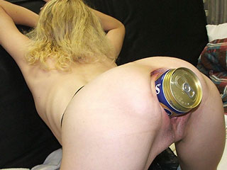 Beer Cans in Vaginas