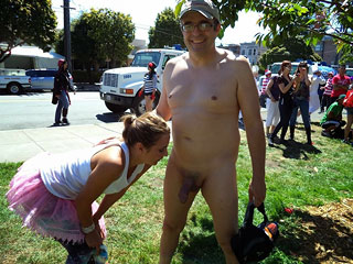 Funny Public Nudity