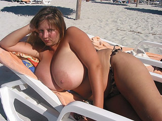 Huge-Titted Nudists