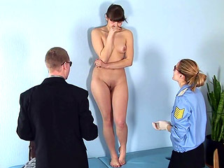Shy Teen Got Undressed