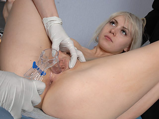 Anal probe from gyno
