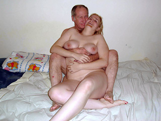 Old Man with Fat Slut