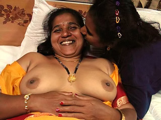 Indian Mother and Da..