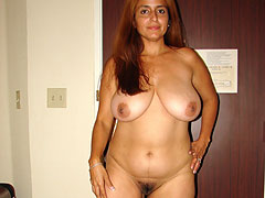 Happy Indian Wife