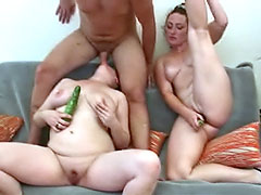 Mature-Young Orgy