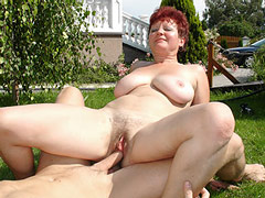 Mature Mom with Guy