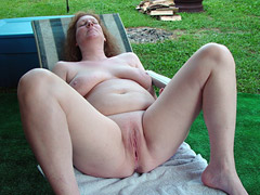 Mature Nudist Dam..