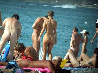 Nudist Beach Spying