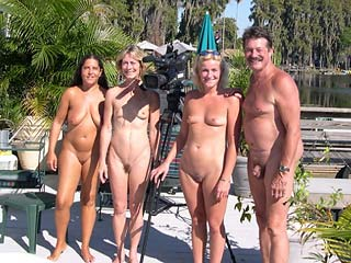 Completely Naked Family