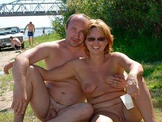Nudist naturist couple