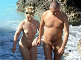 Nudist Wife and Hubby