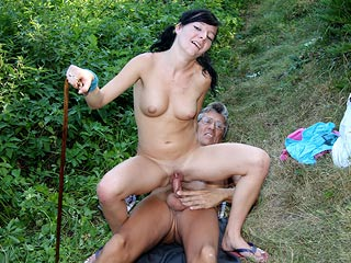 Horny Old Man and Girl