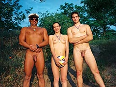 Nudist Trio