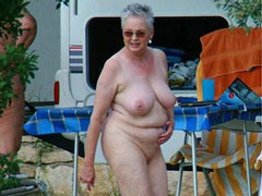 Mature Nudist Woman