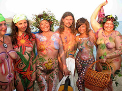 Naturist Bodypaintings