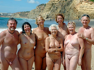 Mature Nudist People