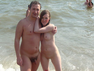 Amateur Beach Couple..