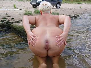 Mature Nudist Assholes