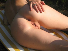 BBW Nudist Assholes