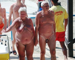 Nudist Grandparents
