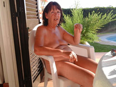 Nudist Grandmother House