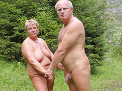 Mature Nudist Outdoo..