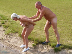 Old Nudist Couples and Mo..