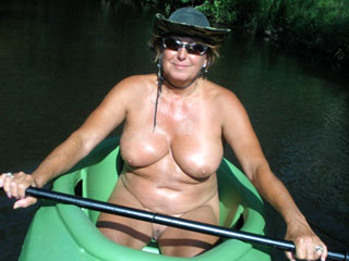 Nudist Mature Boating