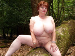 Fat Mature Busty Nudists
