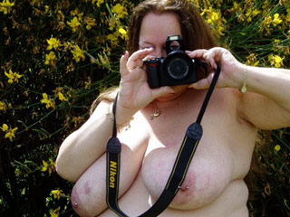 Fat and Busty Old Nudists