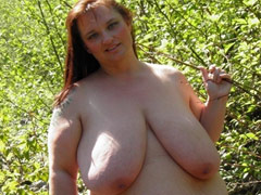 Large Breasts Naturists