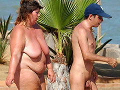 Naturist Moms with Boys