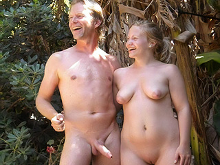 Pervert Old-Young Nudists