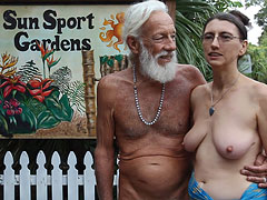 Old Young Nudist Sport