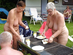 Nudist of Different Age