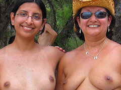Naturist Mom with Girl