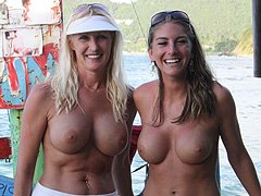 Nudist Girls with Moms