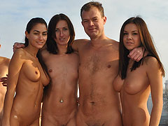 Horny Old Nudist and..