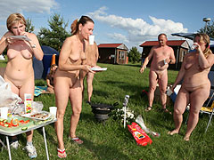 Nudist Moms with Gir..