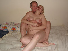Old Man with Fat Teen