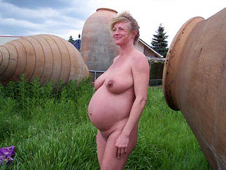 Pregnant Women Outdoors