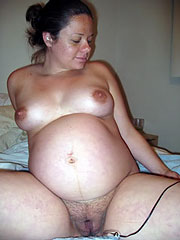 Chubby Pregnant Woman
