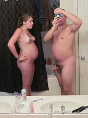 Horny Pregnant Couple