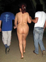 Nude Asses in the Night