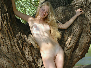 Pretty Outdoor Teen