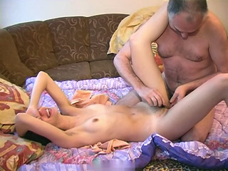 Oiling Innocent Pussy