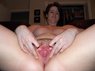 Amateur Showing a Hymen