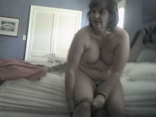 Mom Wearing Pantyhose